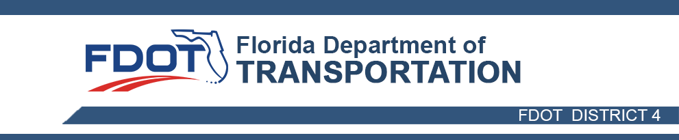 FDOT District Four Header Image